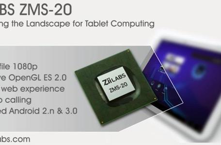 ZiiLabs outs dual-core ZMS-20 and quad-core ZMS-40 for Honeycomb tablets, clocks 'em at 1.5GHz