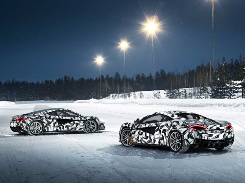 LAPD Considering the Tesla Model S and McLaren Opens an Ice Driving Experience: The Evening Rush