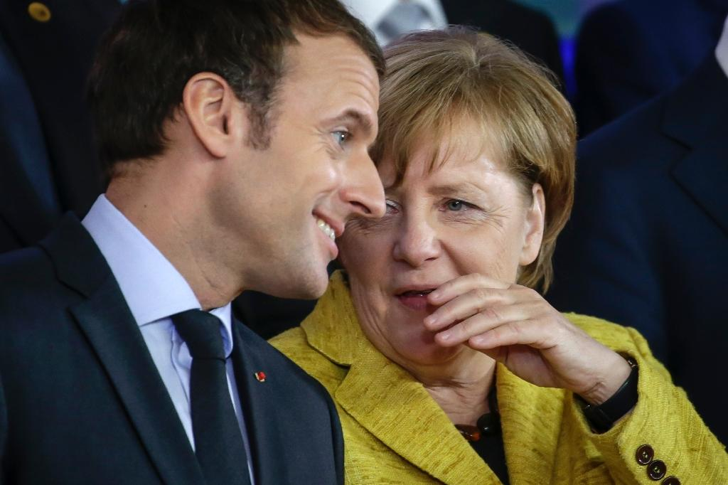Overhauling the eurozone has been a top priority of French President Emmanuel Macron, but his ambitions have been stymied by political uncertainty in Germany (AFP Photo/THIERRY ROGE)