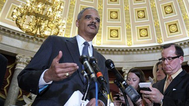 Holder facing contempt of Congress vote over Fast & Furious