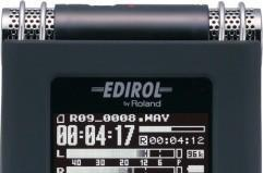 Edirol spruces up its high-end voice recorder with the R-09HR