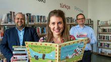 Kultur: Schöneberger Bibliothek führt nun hebräische Literatur