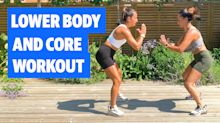 Gym Buddies: Lower Body And Core Workout