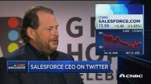 Salesforce CEO Marc Benioff: I love Twitter, but shareholders didn't want to buy it