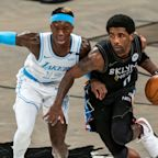 Kyrie Irving ejected as Los Angeles Lakers topple Brooklyn Nets