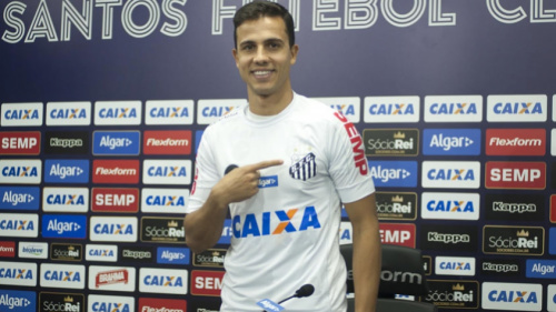Ainda sem poder atuar no Santos, Nilmar tem nome publicado no BID