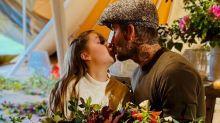 David Beckhams Kuss mit Tochter Harper (9) spaltet das Internet