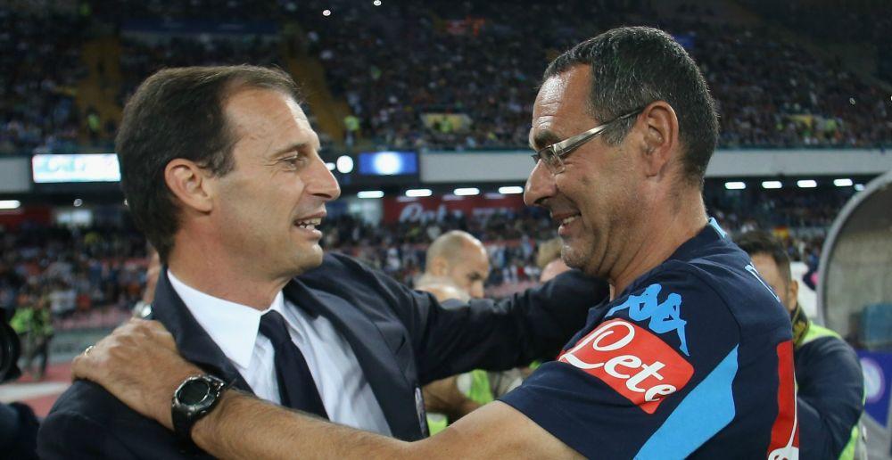 Napoli-Juventus è anche Sarri vs Allegri: è corsa per la Panchina d'Oro