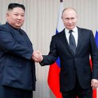 Putin pledges to help 'normalise' US-North Korea relations as he hosts Kim Jong-un