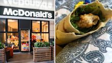 Woman 'sick' after 'horrible' discovery in McDonald's wrap