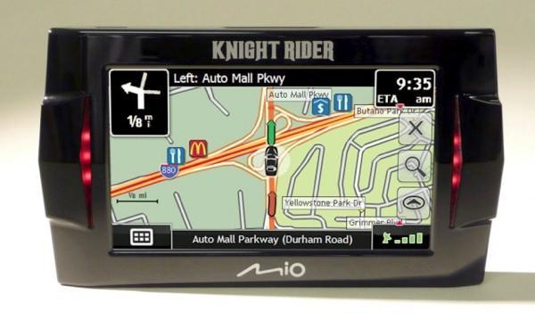 Mio's Knight Rider GPS now available for pre-order