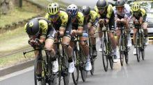 Giro - Tour d'Italie : Simon Yates avec des rouleurs