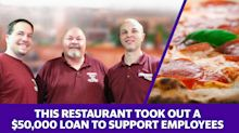 This restaurant took out a $50,000 loan to support employees