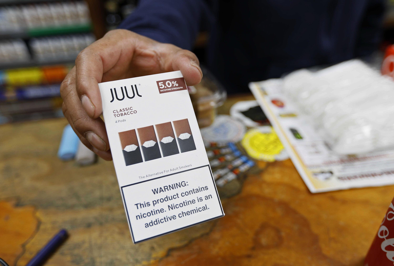 Juul Halts Funding For Vaping Ballot Initiative