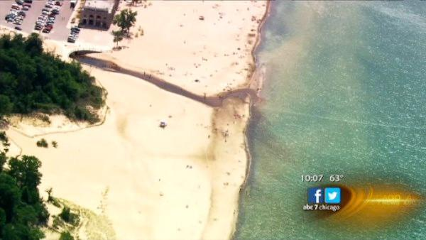 Mysterious substance closes Indiana beaches