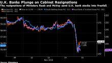 Fear of Hard Brexit and Corbyn 'Armageddon'Sinks U.K. Banks