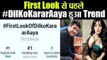 Siddharth Shukla 's song #FirstLookOfDilKoKaraarAaya trend on Twitter before release