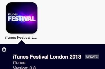 Apple adds Passbook support to iTunes Festival London app
