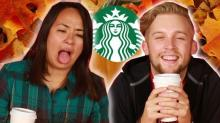 Watch People Try Pumpkin Spice Lattes For The First Time