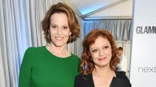 Susan Sarandon Is Not Sigourney Weaver — Though Now and Then She'll Pretend to Be