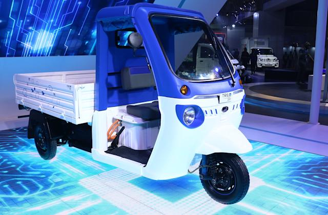 Amazon begins using three-wheeled EVs for deliveries in seven Indian cities