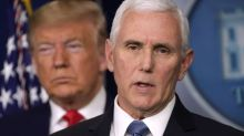 Mike Pence Backs Away From the Trump Election 'Fraud' Train Wreck