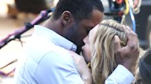 See Idris Elba kissing Kate Winslet in new movie pics