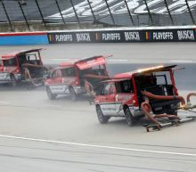 NASCAR at Texas live updates: Track drying continues as rain delays race