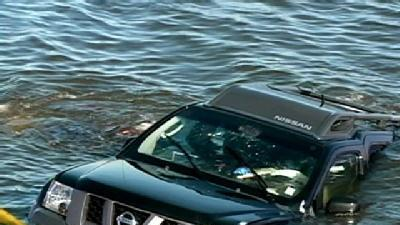Woman Rescued From Sunken SUV