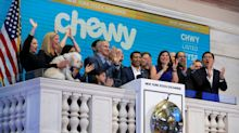 Chewy reports sales in line with expectations