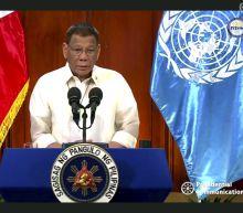 Duterte gets rare praise for raising sea feud ruling at UN