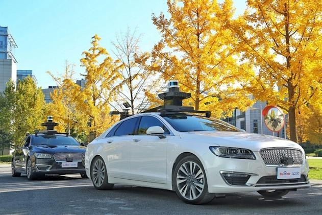 Ford and Baidu team up to test autonomous cars in China