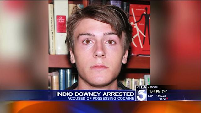 Robert Downey Jr.`s Son Arrested On Cocaine Charges