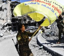 Islamic State group loses emblematic Syria stronghold Raqa