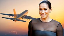Meghan Markle flies commercial to the US to watch Serena Williams in US Open