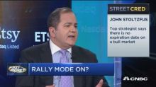 Top strategist John Stoltzfus of Oppenheimer says there's no expiration date on a bull market