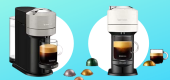 Nespresso coffee machine bundles. (Amazon)