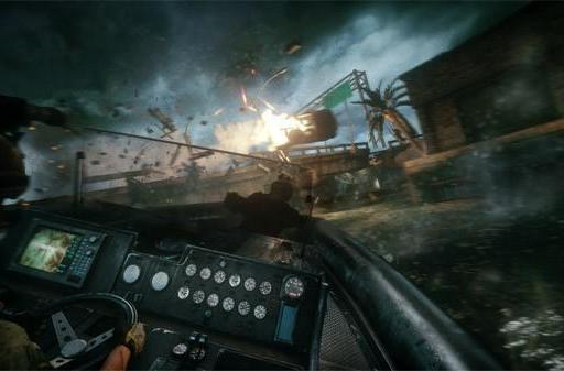 Medal of Honor: Warfighter features guns, explosions, motorboats, and ... more guns