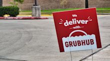 Grubhub's stock whipsawed after posting a wider-than-expected quarterly loss