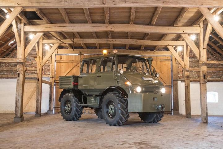 Buy This Luftwaffe Mercedes Benz Unimog Go Wherever You Darn Please