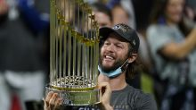 The look on Clayton Kershaw's face the moment the Dodgers won the World Series said it all