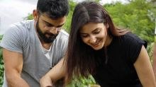 Lovebirds Anushka Sharma and Virat Kohli plant a sapling together in Sri Lanka