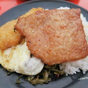 澎湖馬公 馬路益燒肉飯~大排長龍名店,教你如何快速吃