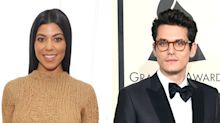 Hold up, does this mean Kourtney Kardashian and John Mayer are dating now?