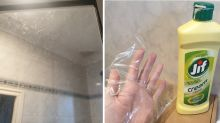 Shower cleaning hack goes viral for using unexpected item