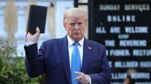 George Floyd death: Trump's church visit shocks religious leaders