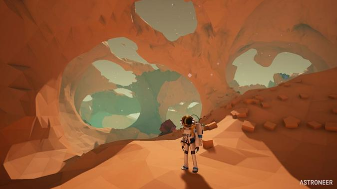 'Astroneer' is a planetary exploration game on a grand scale