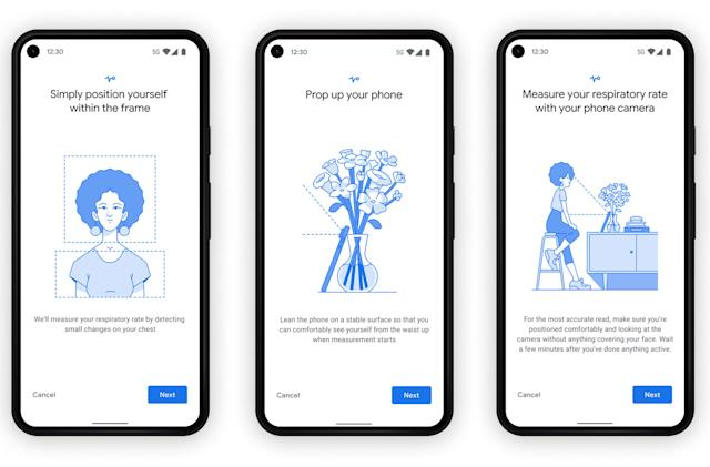 Google taps your phone cameras to measure your heart rate