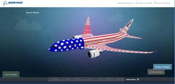 Design your own Boeing 787 Dreamliner... but good luck affording one