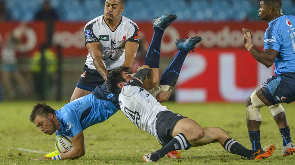 Bothma sees red but Bulls beat Sunwolves for first win
